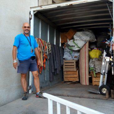 3500 kg d'encombrants pourTrie Recyclage ce Mardi à Céret Débarras 66 Jean à votre Services 7/7