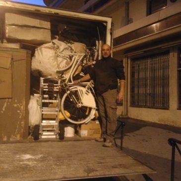 Ce Samedi Grosse Journée !! débarras granges Enchois de Collioure 4500 kg pour mise en déchetterie, que du Bonheur !! lol