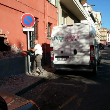 Démolition Evacuation Gravats pour Boite à Clous à Perpignan ce Lundi