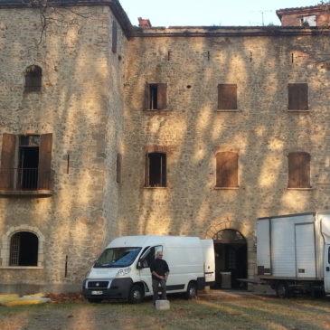 Débarras 66 Vide le Château Villeclare du XIII ème siècle à Palau del Vidre 66
