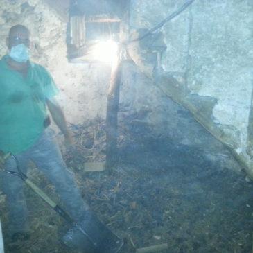 SuperTaf !! ce Dimanche en Urgence Débarras 1 Tonne de Charbon dans Cave